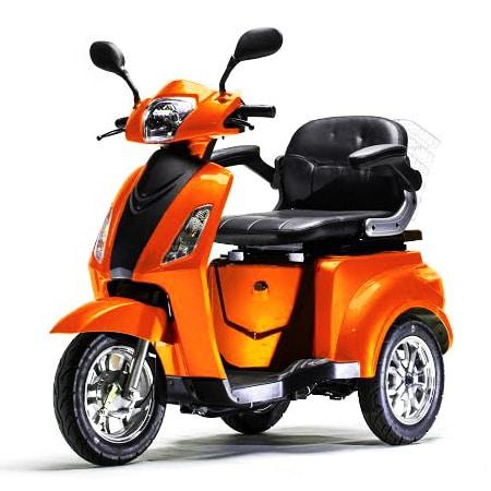 דגם Vortex R3S קלנועית איכותית בצבע כתום