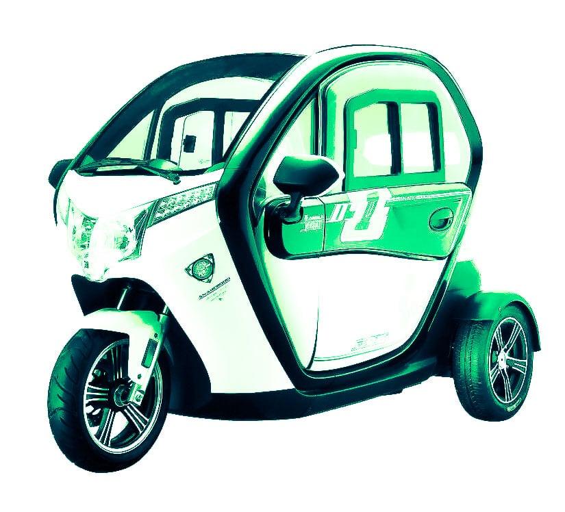 קלנועית ירוקה מדהימה
