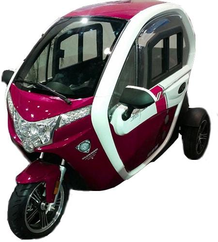 קלנועית אדומה יפה מהירה דגם sperit 2000