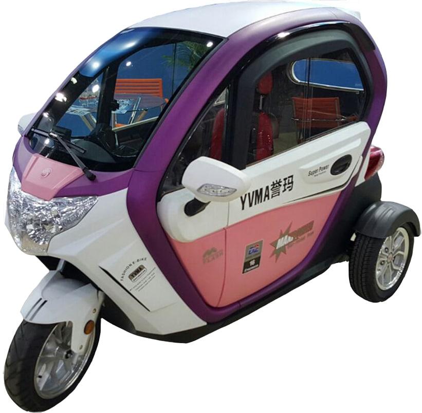 קלנועית בטיחותית לנשים