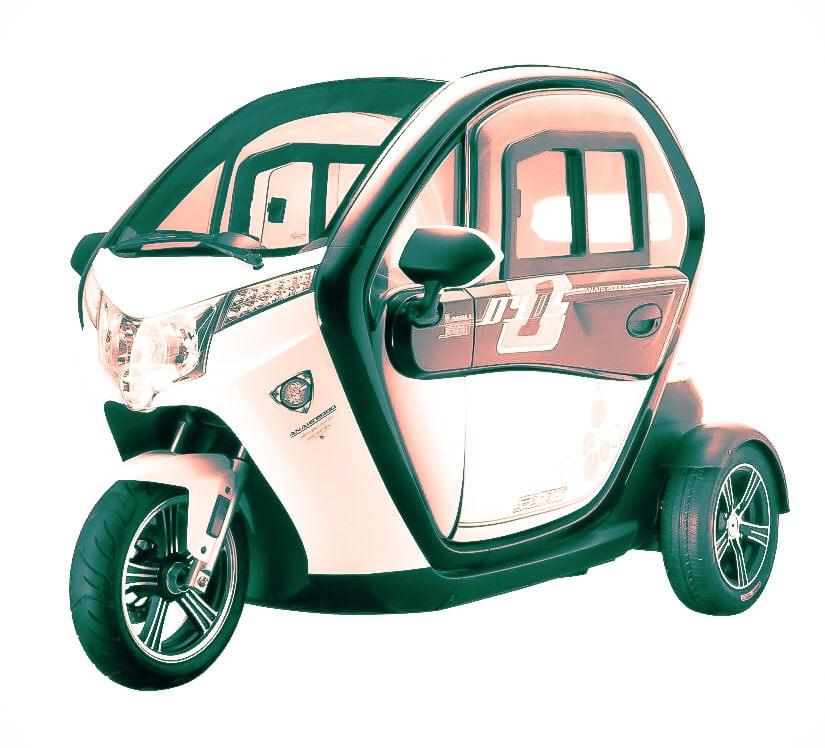 קלנועית חשמלית ברמה גבוהה באתר