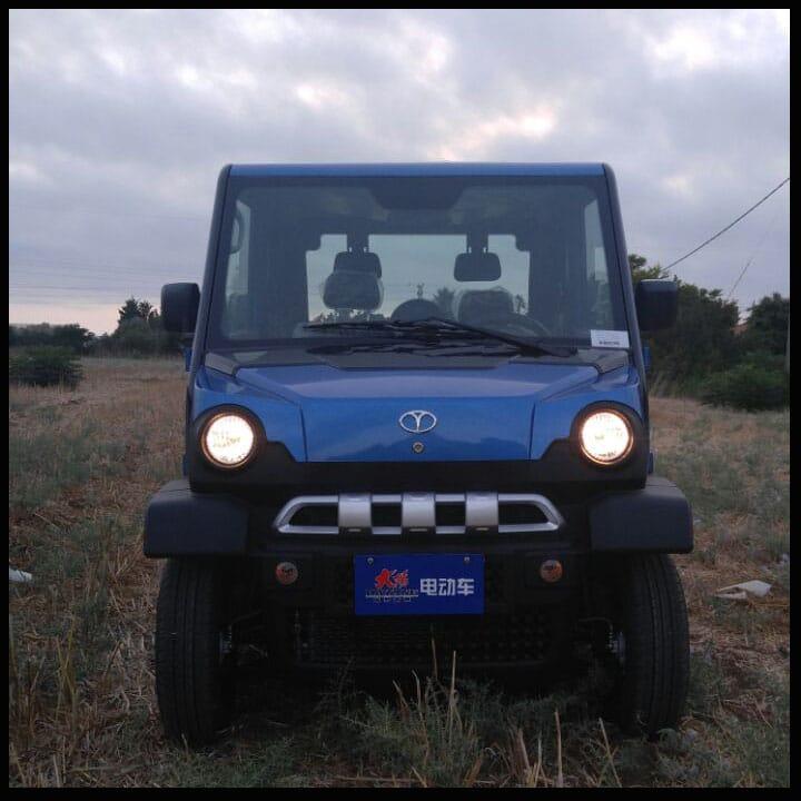דגם מתקדם CHOCK S – רכב חשמלי עם עוצמה מרבית