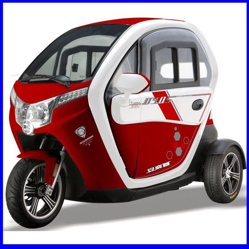 רכב תפעולי אדום