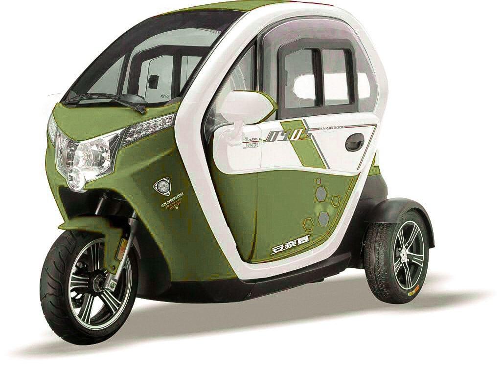 קלנועית איכותית בצבע ירוק