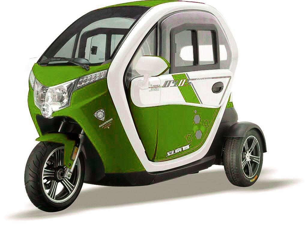 קלנועית בסטייל מדהימה צבע ירוק