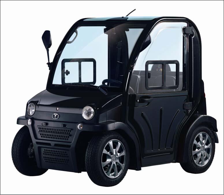 רכב תפעולי - מדגם chok1 בצבע שחור - Green Extreme