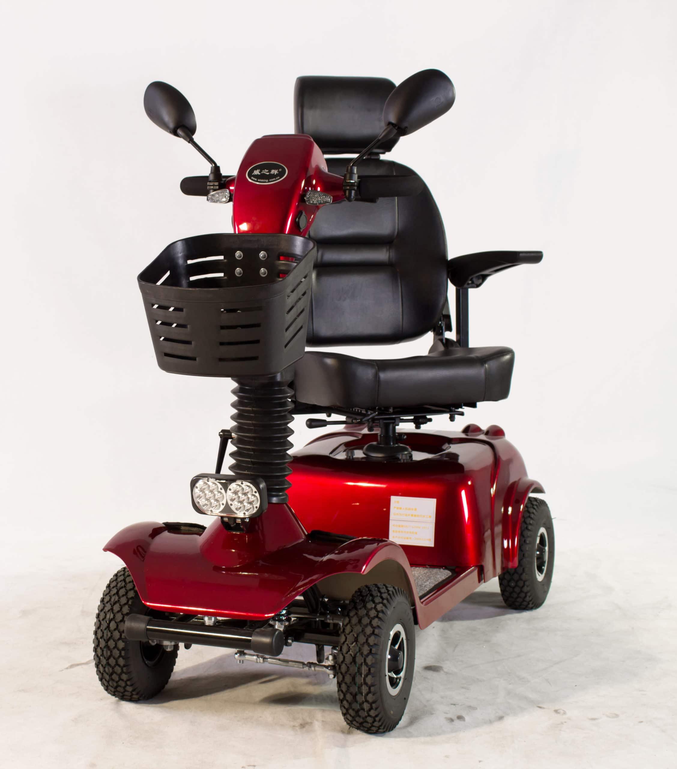 קלנועית עם מושב מסתובב לנוחות מקסמאלית