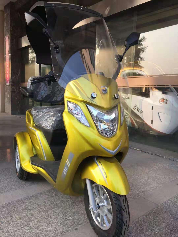 אופנוע חשמלי תצוגה