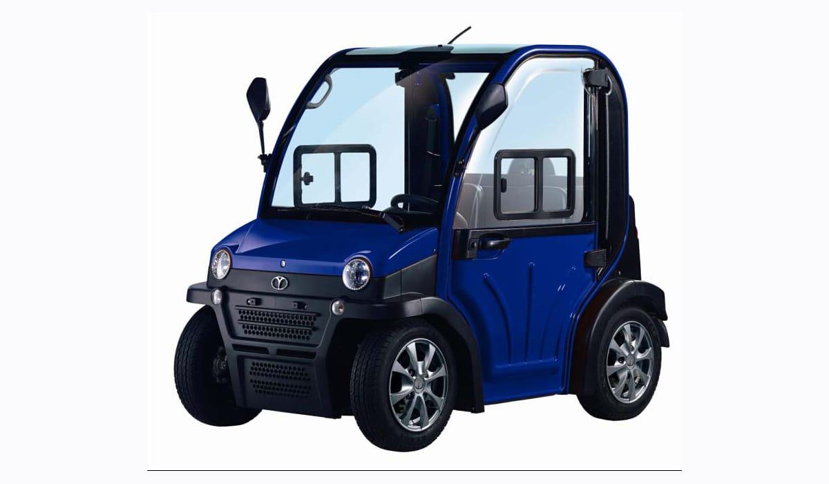 רכב תפעולי כחול דגם chok-chok 1