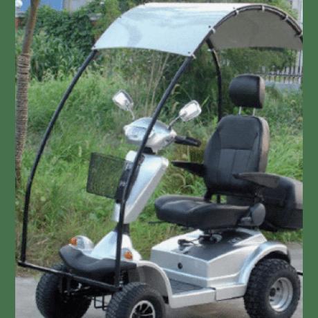 קלנועית עם גוף רחב וגבוה דגם נהורי